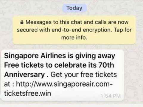 Waspada Banyak Penipuan Di Whatsapp