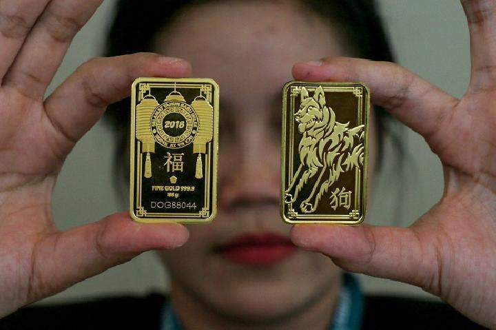 Harga Emas Antam Rp 667000gram Hari Ini